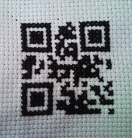 Loki Scan tag cross stitch by WhispMI21