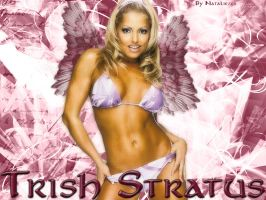 Trish Stratus Wallpaper by Y2Natalie