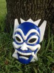Blue spirit mask by TheAngryMaskSalesman