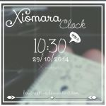Xiomara Clock Wtf? by LaliCreative