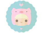 Kawaii Pig Hat by apparate