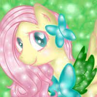 Shiny Fluttershy by AlysTown