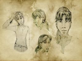 Tebher Sheet by ElysianImagery