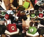 Mario And Luigi Kart Construction by Elizardc