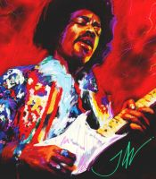 JAMES MARSHALL HENDRIX by JALpix
