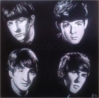 All My Loving - Beatles Painting by Tokiiolicious