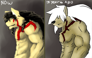 Before n After by Galvin-wolf