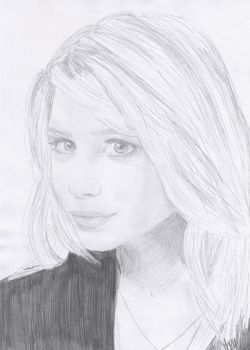 Ashley Olsen 2 by crayon2papier