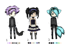 New Chibi Adopts (Closed) by Yourtoast