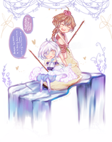 MS: Fishing theme by yune-d