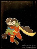 DC - seeing stars - timkon by nekojindesigns