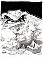 Clayface by misfitcorner