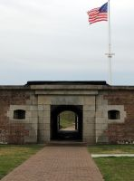 Entrance to Fort Moultrie by BlutEisen