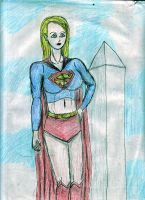 Supergirl in DC by MrDarksMayhem-B
