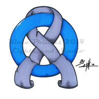 Diabetes ring and ribbon tattoo design by KPhillips702