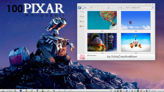 Wallpapers Pixar  by iTutosCreativeRawr