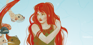 RedHair by FlowingDaisy