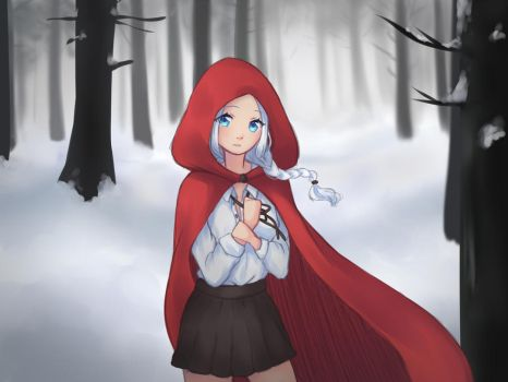 Red Riding Hood by DFDDraws