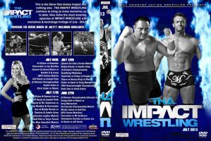 Imapct Wrestling July 2013 DVD Cover by Chirantha