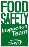 Food Safety Inspection Team Logo by graph-man