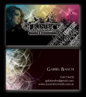 Excentric card by Gabiton