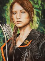 Katniss Everdeen by BKLH362