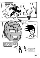 vegeta comic 17 by timpu