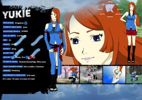 Yukie Terumi - character sheet by hanah-chan