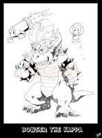 Bowser the kappa by Grethe--B