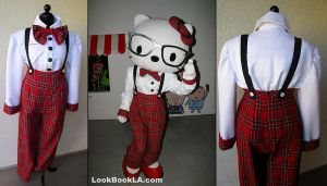 I Heart Nerds Hello Kitty by Lillyxandra