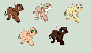 Adoptables by ChastityRose