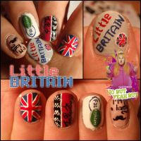 Little britain nails by JawsOfKita-LoveHim