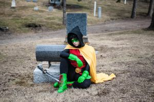 Ghost of Me [Damian Wayne] by BlueWingXIII