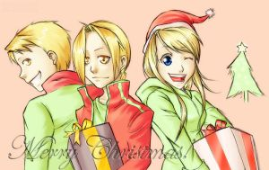 FMA - Merry Christmas by arseniic