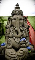 Ganesha by sculptin