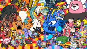 Sun and Moon Pokemon Collage