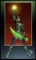 Ray's Green Lantern by psychoheat