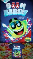 Boomberry Cereal box tshirt by tad-aster