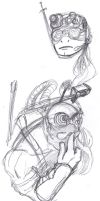 Donatello Sketches by ConstantM0tion