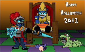 Knightformers Halloween by wachey