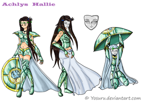 Achlys Hallie reference amazona by Yosuru