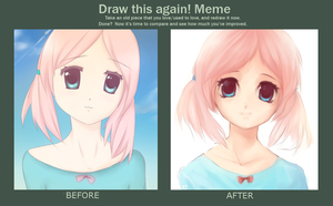 Draw this again meme by WinterB
