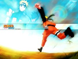 Wallpaper Naruto by j--c