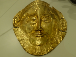 Greece -26- : Mask of Agamemnon by IoannisCleary