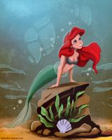 The Little Mermaid by Spartan0627