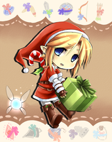 .: SANTA LINK :. by PepperMoonFlakes