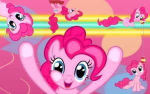 Pinkie Pie Wallpaper 1920x1200 by daughterdragon
