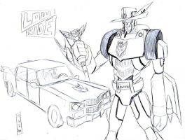 Transformers OCs: Lowride by GarthTheDestroyer
