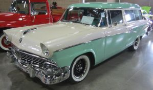 56 Ford Ranch Wagon by zypherion