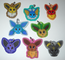 Eeveelution Charms - For Sale by Rashasa